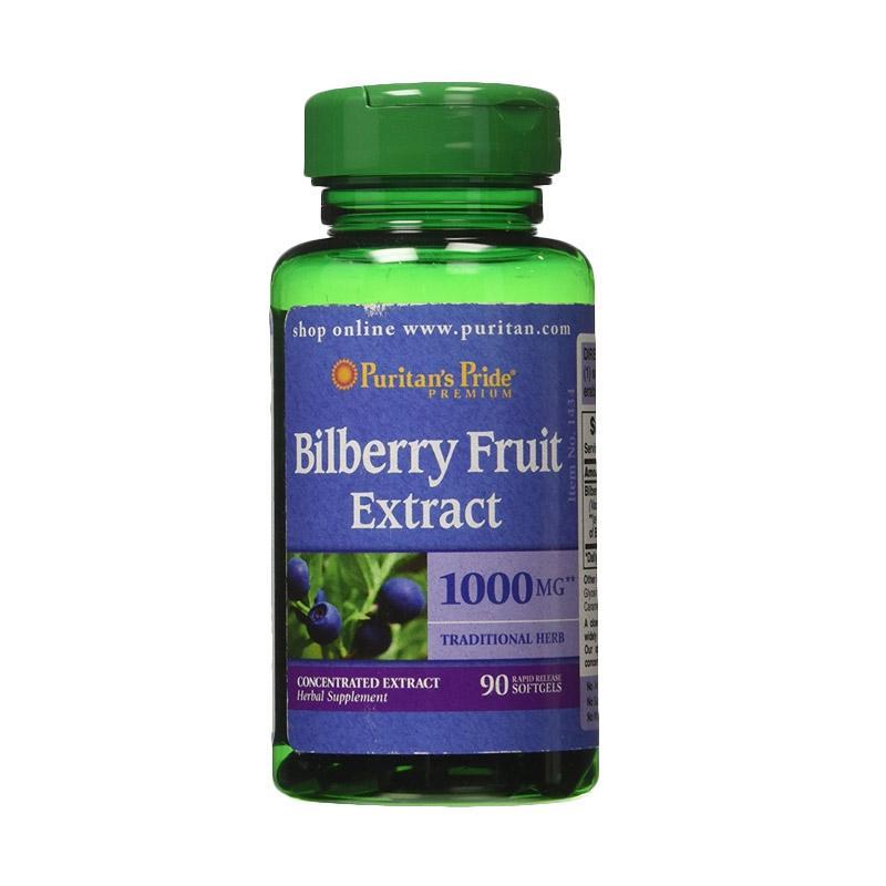Puritan's Pride   - Bilberry Fruit Extract 1000 mcg